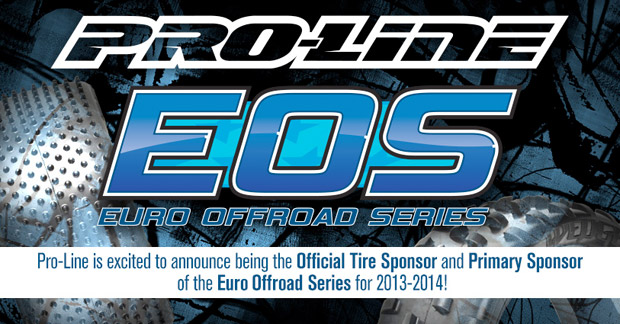 Pro-Line is official tire supplier for 2013-14 EOS season