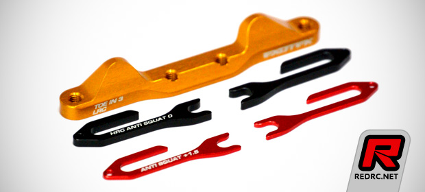 Exotek DEX210 aluminium suspension mounts