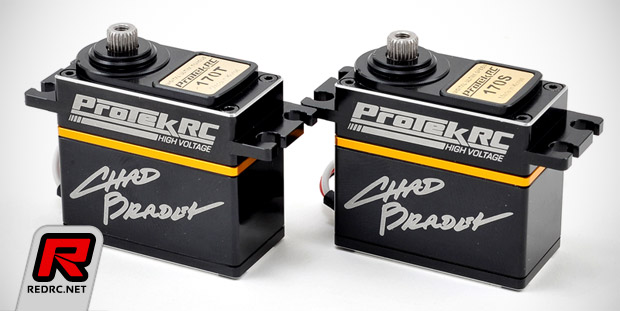 ProTek R/C 'Chad Bradley Team Edition' digital servos