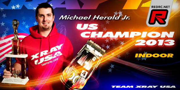 Mike Herald wins 17.5T TC at US Indoor Champs