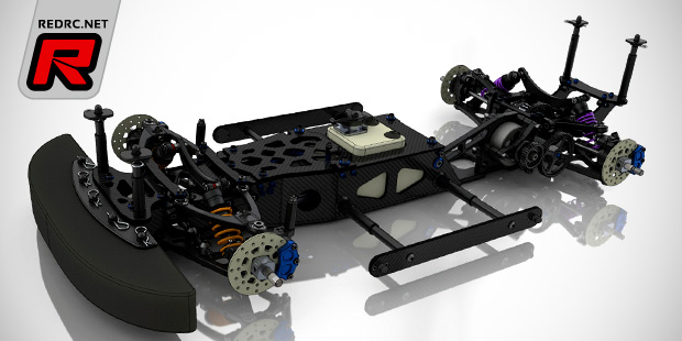 RS5 T14 large scale touring car kit