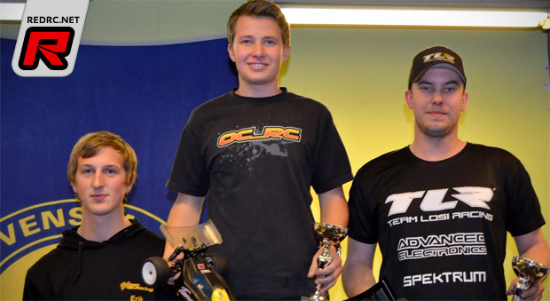 Oskar Levin takes 2wd at VBC Cup Rd2