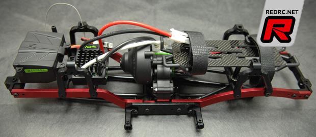 STRC SCX10 SWB chassis & Wraith driveshafts