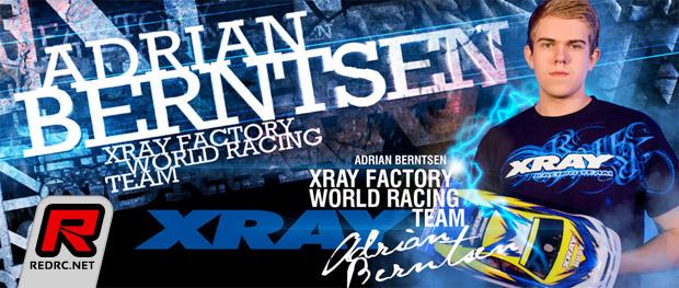Adrian Berntsen renews contract with Xray