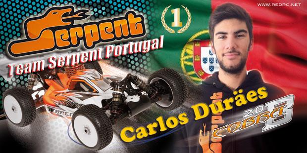 Carlos Duraes joins Team Serpent