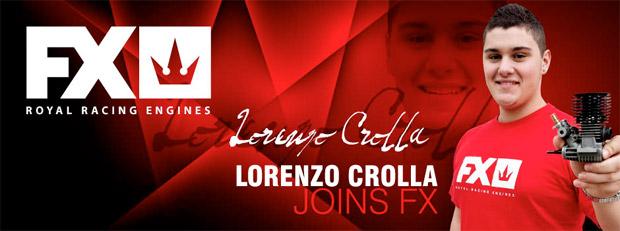 Lorenzo Crolla joins FX engines