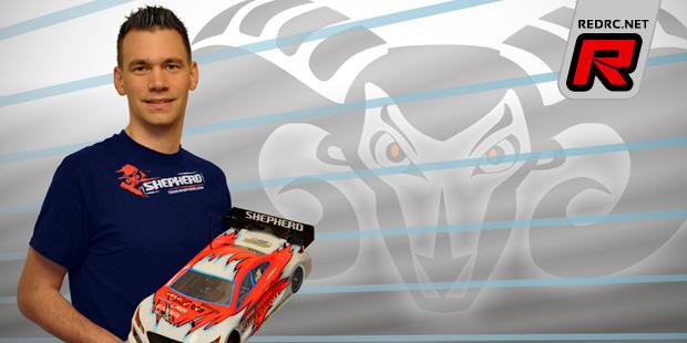 Dirk Wischnewski signs with Team Shepherd