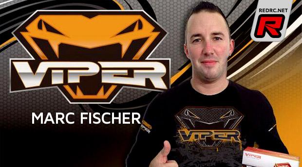 Viper R/C signs Marc Fischer