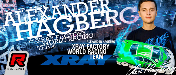 Alexander Hagberg renews with Xray for 2014