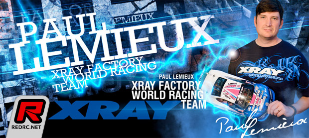 Paul Lemieux re-signs with Xray for 2014
