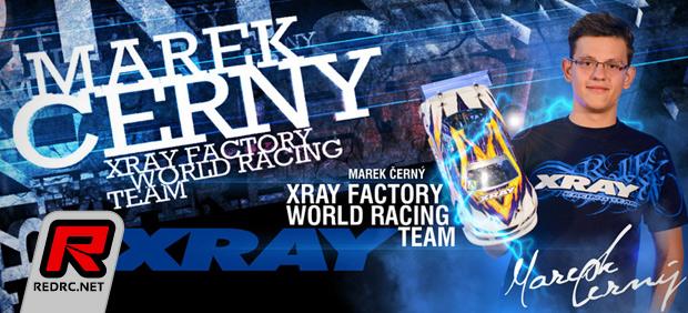 Marek Cerny renews with Xray
