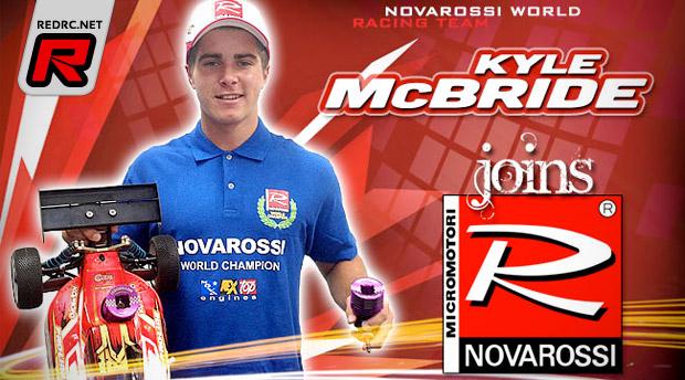 Kyle McBride to run Novarossi engines