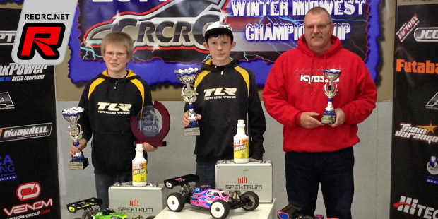 Jones & Weatherholt win at Winter Midwest Champs