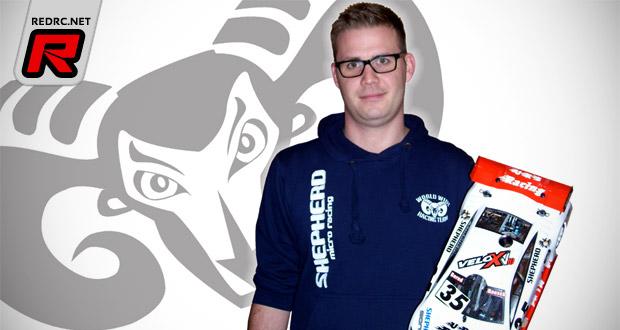 Bernd Rausch joins Team Shepherd