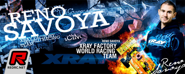 Reno Savoya confirmed with Xray for 2014
