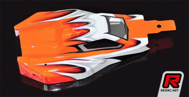 Serpent Spyder SRX2 body and wings