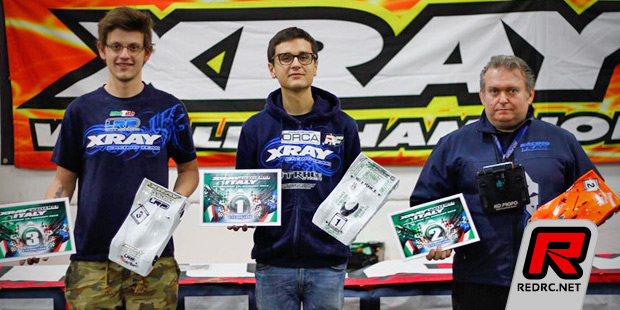 In 1/12, he had a comfortable margin to the others. Massimo finished 2nd and Marek 3rd in the 1/12 class.