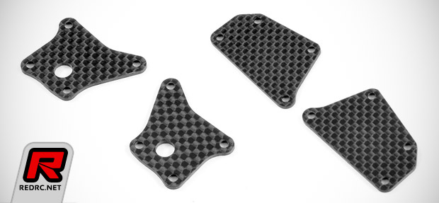 Xray T4 graphite lower arm plates
