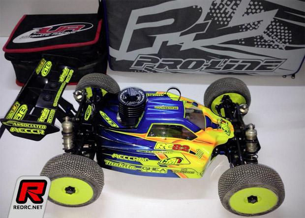 Yannick Aigoin to run Ultimate engines & Pro-Line tires