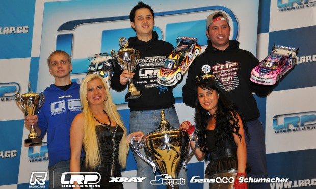 Volker takes fifth DHI Cup title