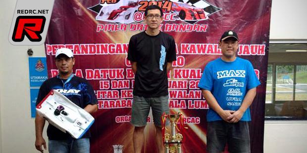Alex wins at Malaysian nitro on-road series Rd1