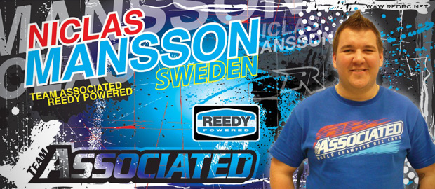 Niclas Mansson joins Team Associated & Reedy