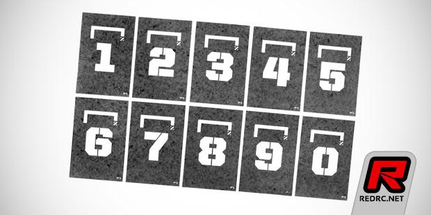 P1 Brand  starting grid stencils