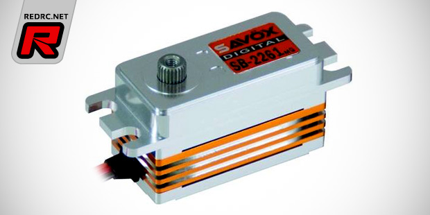 Savöx SB-2261MG low-profile brushless servo