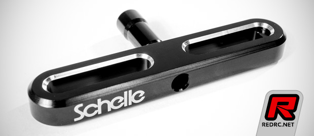 "Schelle 7mm and 11/32"" T-handle wheel wrenches"