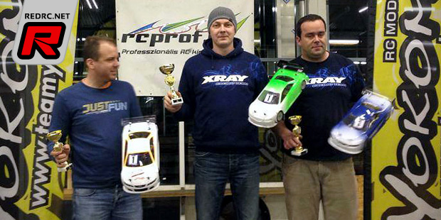 János Birinyi wins at RCProf SP Challenge Rd6