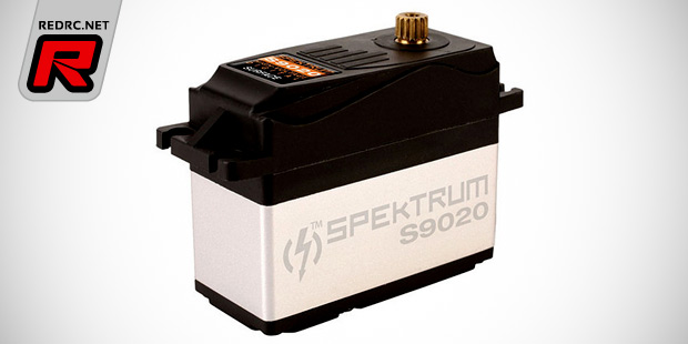 Spektrum S9010 & S9020 large-scale servos