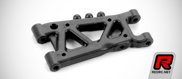 Xray T4 graphite 1-hole A-arms