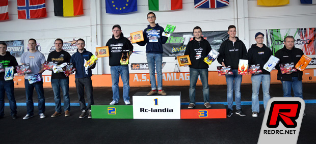 Hagberg & Mobers 2014 EFRA 1/12th scale champions