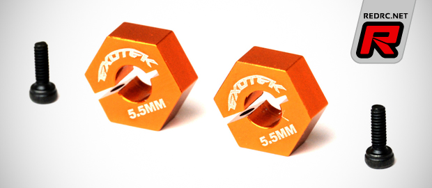 Exotek XB4 9.5mm & 12mm hex wheel adapters