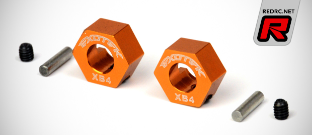 Exotek XB4 9.5mm & 12mm hex wheel adapters