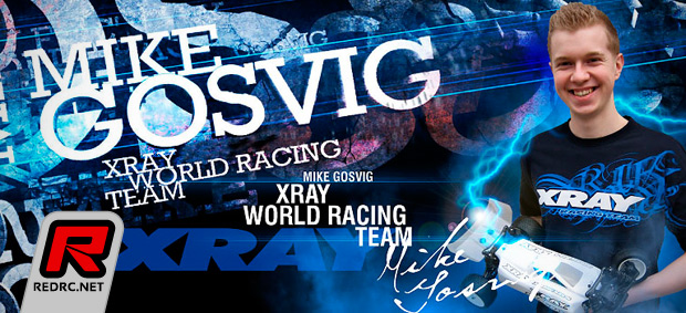 Mike Gosvig signs with Xray