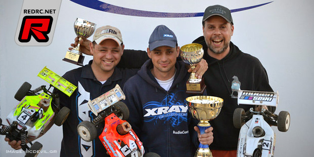 Tasos Paparegas wins Greek National Cup