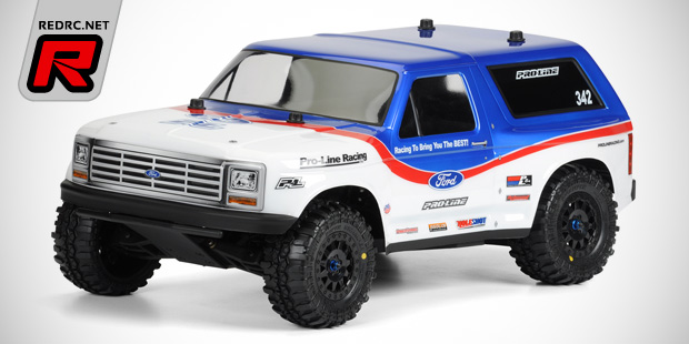Pro-Line '81 Bronco & new Short Course options