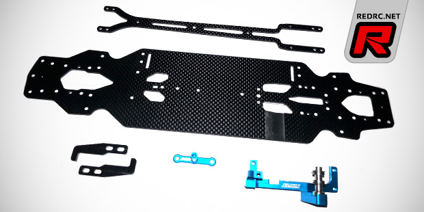 Samix TRF418 chassis conversion kit