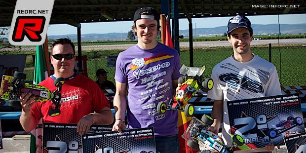 Robert Batlle wins 1st round of Spanish 2WD nats