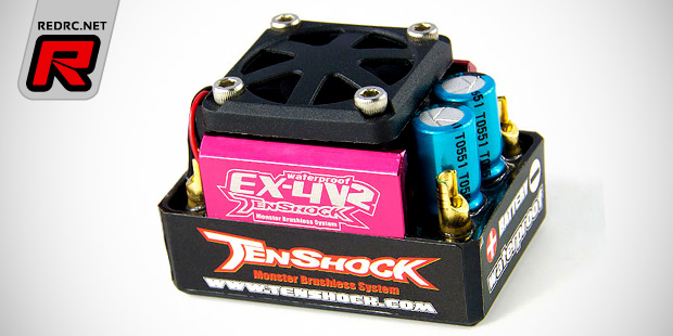 Tenshock WP-EX4 V2 brushless speed controller