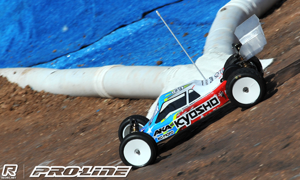 TQ run for Tebo in 2WD Buggy Q1