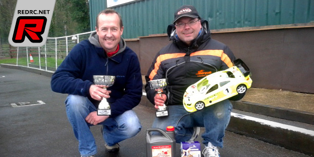 Green & Thompson win at BRCA 1/10th Nitro opener