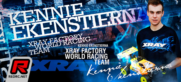 Kennie Ekenstierna signs contract with Xray