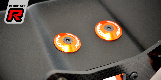 Exotek RB6 direct spur mount & alloy wing buttons