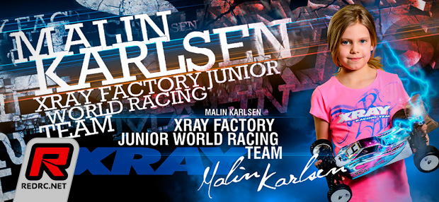 Malin Karlsen joins Team Xray