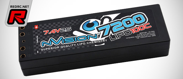 NVision 100C LiPo battery packs