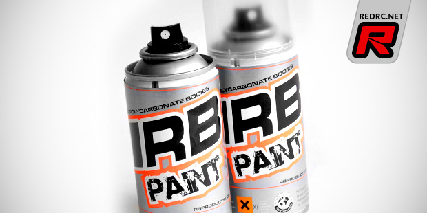 RB polycarbonate paint sprays