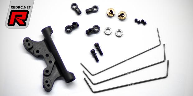 Serpent SRX2 rear anti-roll bar kits