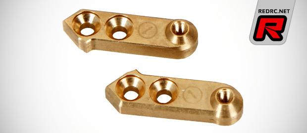 Serpent SRX2 alloy C-hubs & brass steering arms